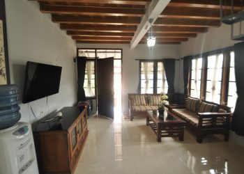 Ruang Tamu Villa Baladewa
